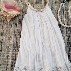 Lilly Pulitzer fully lined white sun dress xxs